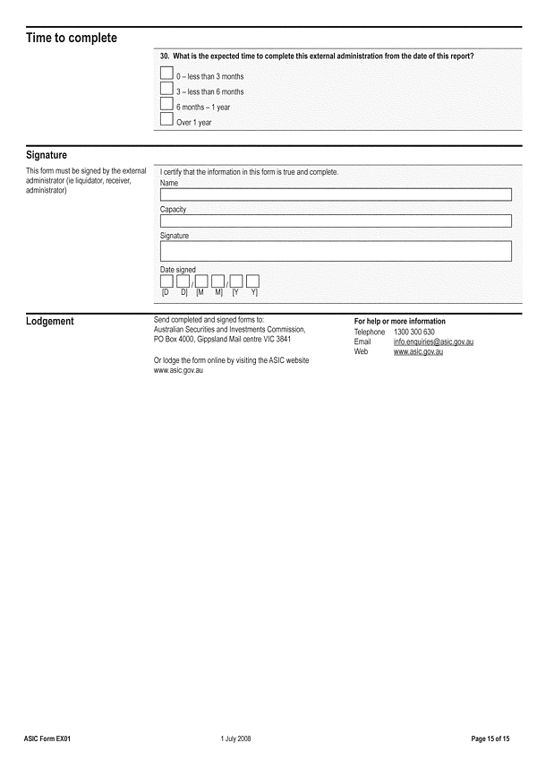 how to fill out asic form 201